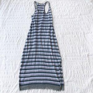 Joie Linen Stripe Maxi Dress S